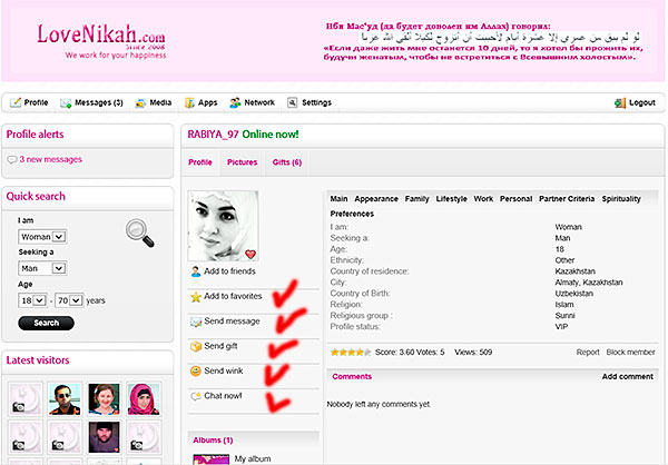 elim muslim dating site Welcome to the simplest online dating site to date, flirt, or just chat with muslim singles it's free to register, view photos, and send messages to single muslim men and women in your area one of the largest online dating apps for muslim singles on facebook with over 25 million connected singles, firstmet makes it fun and easy for mature adults to.